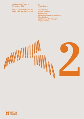A2 Paper: Context and Change in Scottish Architecture A2 cover - designed by objectif
