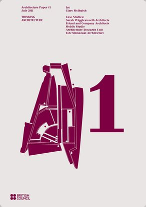 A1 Paper: Thinking Architecture A1 Cover - design by objectif