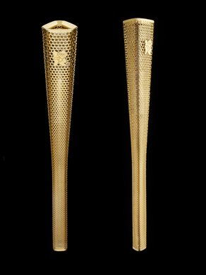 Design Museum - Designs of the Year 2012 Olympic torch designed by Barber Osgerby