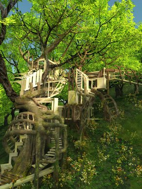 AA Project Review - Thaumaturgical Forest Image by Ling Leng
