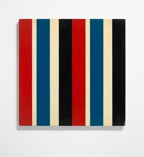 Richard Hollis exhibition opens at Gallery Libby Sellers Serial Painting 31323 x 2 by Richard Hollis