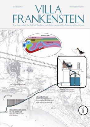 Villa Frankenstein two-part publication  Villa Frankenstein Volume #2. Graphics by objectif