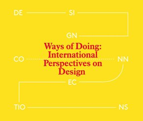 Ways of Doing: International Perspectives on Design Ways of Doing