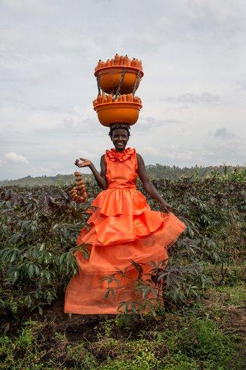 Rwanda - Cedric Mizero Photograph by Chris Schwagga