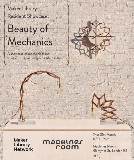 Maker Library Resident Showcase: Matt Gilbert  Machines Room