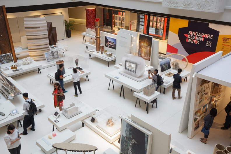 Opportunity: ICOM UK and British Council Travel Grant Scheme  © National Design Centre ariel view by Fabian Ong