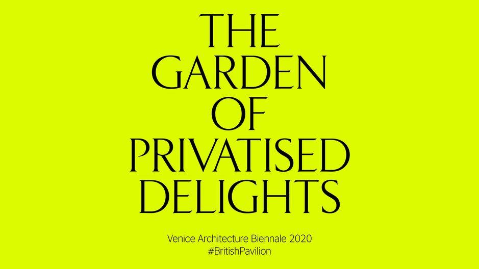 Venice Biennale 2020 KELLENBERGER-WHITE