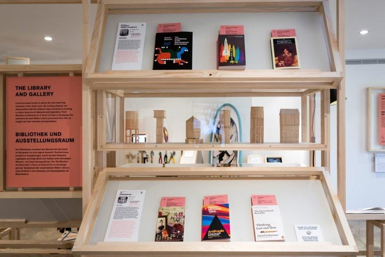 Maker Library Network at Vitra Design Museum Gallery  Photo Credit:  ©Vitra Design Museum | Photographer: Bettina Matthiessen