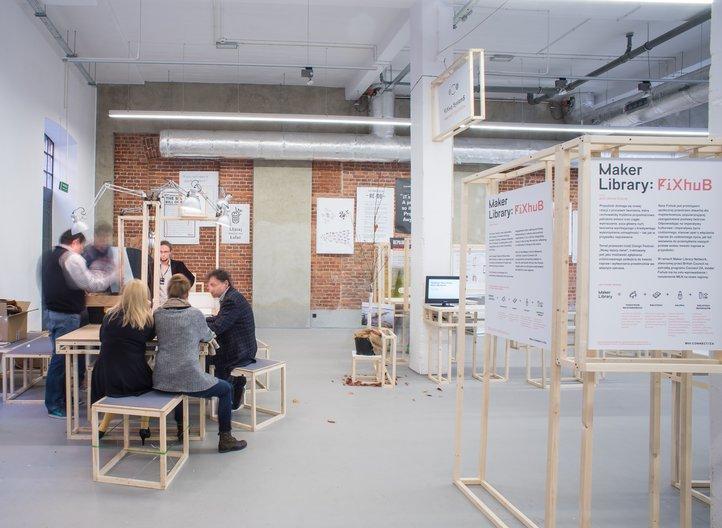 Fixperts Display at Lodz Design Festival 2014 ©Łòdź Design Festival