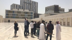 Prototype City, British Council Unlimited Doha Prize, Visit to Msheireb prayer ground