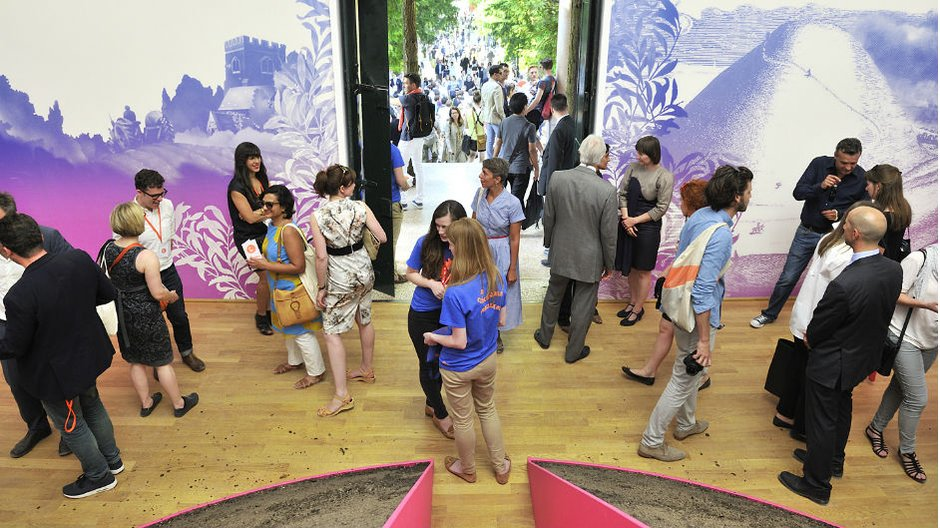 Venice Biennale Fellowships 2016: Open Call British Pavilion 2014 © Cristiano Corte for the British Council