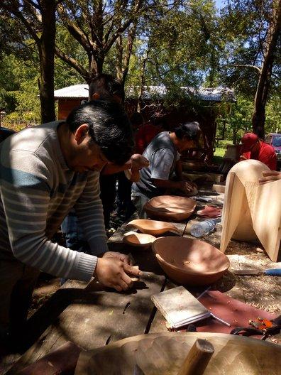 Chile  Wood Workshop, Liquiñe