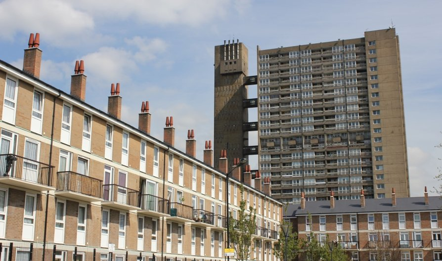 IAS 2014 Balfron Tower, Poplar. Photo: British Council