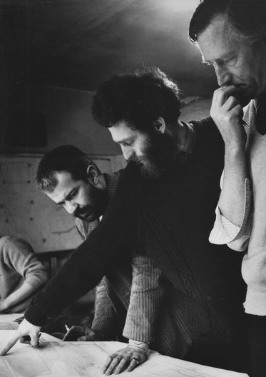 Absorbing Modernity at Belfast Festival Peter Luker, Paddy Lawson & Francis Pym. Courtesy Collection Marigold Pym