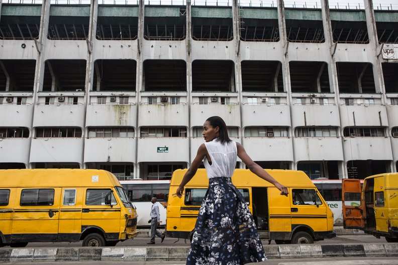 Art Connects Us Research Grants: Open Call 2018 FASHION DNA NIGERIA / © NINA MANANDHAR