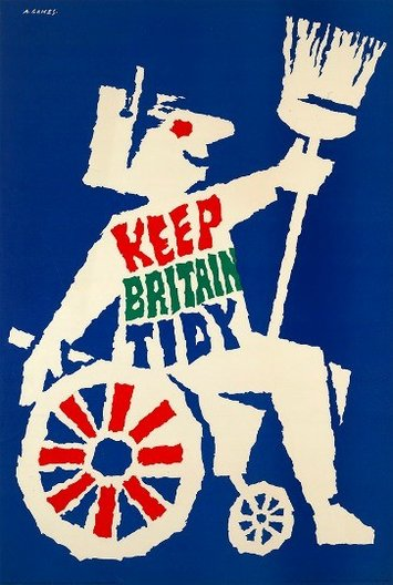 Object of the Month: Keep Britain Tidy Poster © Estate of Abram Games
