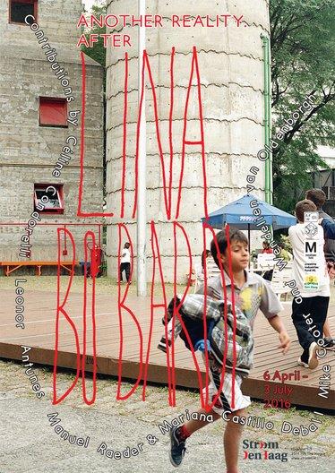 Lina Bo Bardi Fan Day Poster 'Another Reality. After Lina Bo Bardi' / design: Studio Manuel Raeder