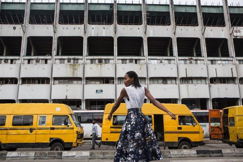 Art Connects Us: Sub-Saharan Africa FASHION DNA NIGERIA / PHOTO BY NINA MANANDHAR