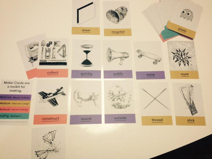 Machines Room Project: Maker Cards