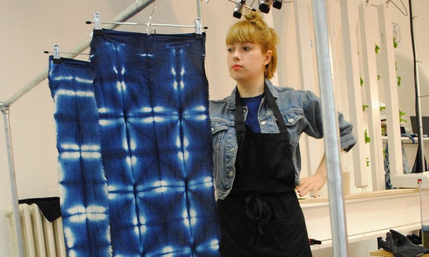 Makerversity Project: The Art of Shibori Photograph by Candyce Dryburgh