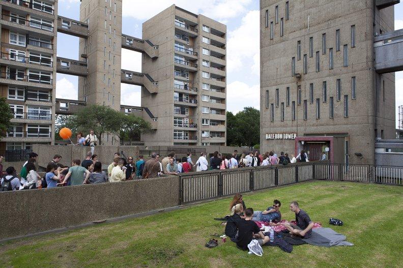 Prototype City International Architecture Showcase a Celebration at Balfron Tower © British Council