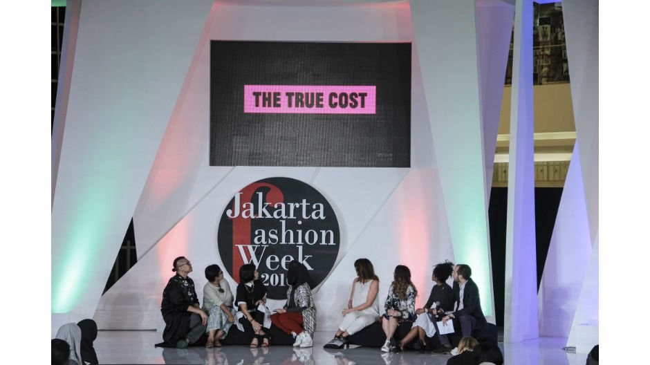 Sustainable Fashion Forum at Jakarta Fashion Week Sustainable Fashion Forum 2015