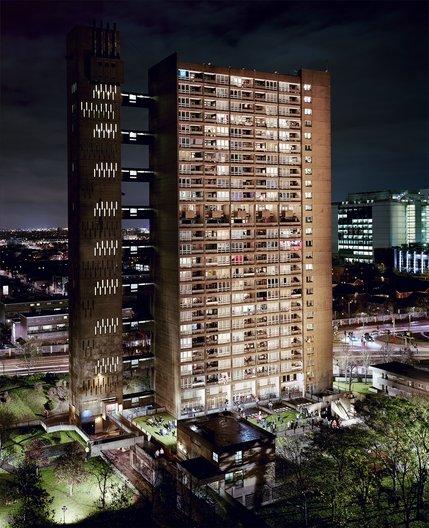 Open Call: International Residencies for London Festival of Architecture 2014 Simon Terrill, Balfron Tower, type C print, 162cm x 200cm, 2010