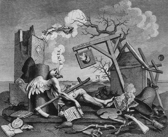 Building, Beauty and Society at Architecture Fringe 2016 The Bathos, William Hogarth