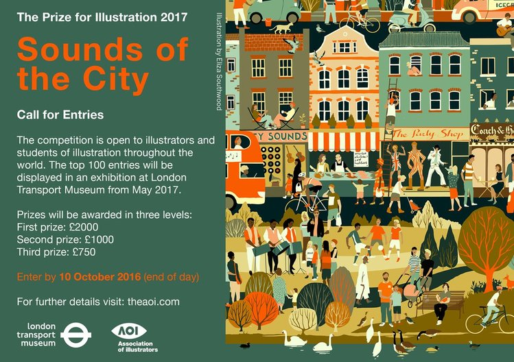 OPPORTUNITY: The Prize for Illustration 2017 AOI Association of Illustrators