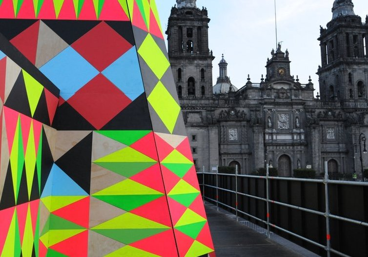 Abierto Mexicano de Diseño Morag Myerscough and Luke Morgan