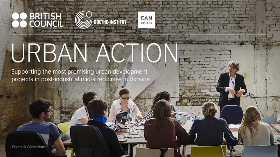 Open Call: Urban Action Ukraine Courtesy of British Council Ukraine. Photograph by CANactions