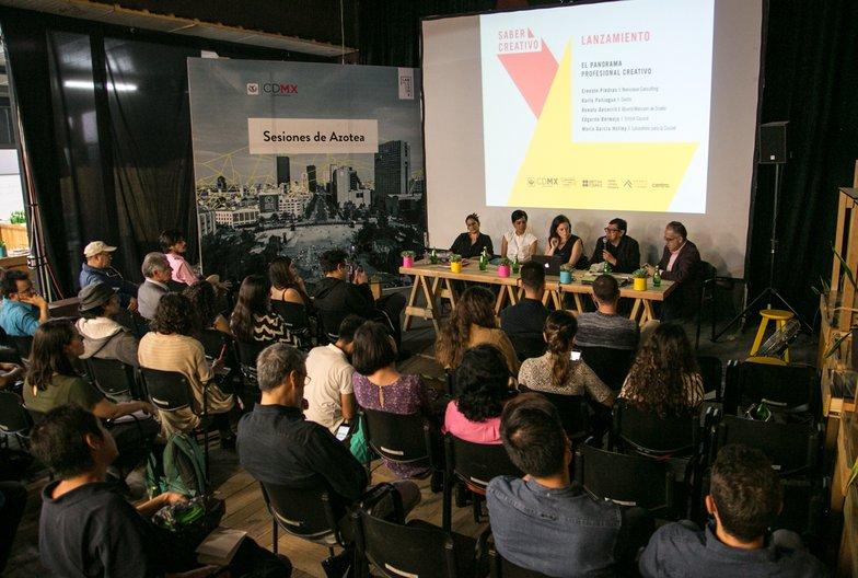 Saber Creativo launches in Mexico City © Laboratorio para la Ciudad
