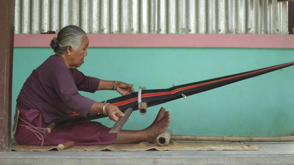 Where we work Weaver in Tripura. Photograph by Storyloom Films.