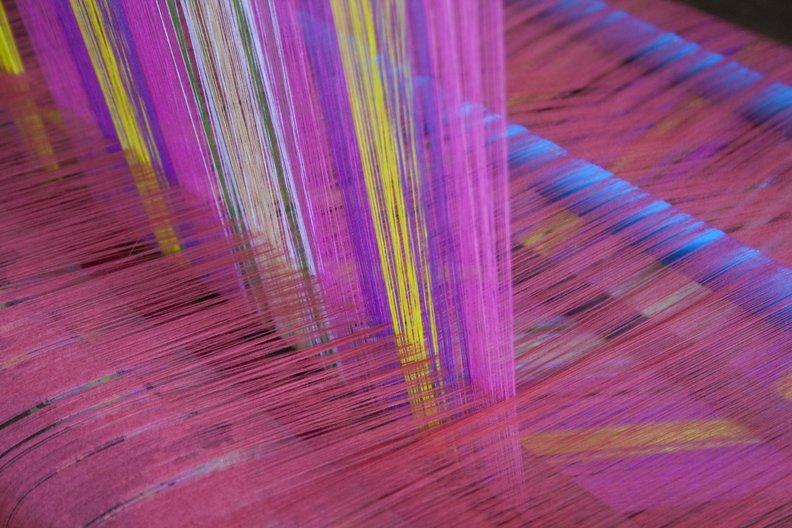 London Craft Week Talk: Material World Weaving in Amarapura Villages, Mandalay, Myanmar. Photo: Sandra Sordini