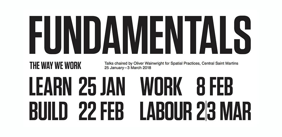 Fundamentals Debates at Central Saint Martins