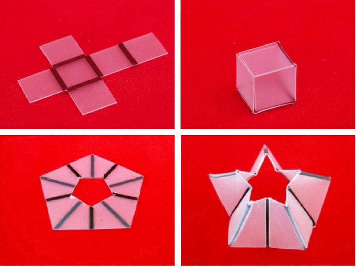 Maker Library Network Drop-in Self-folding Structures Workshop   Saturday 1 August 2015, 12:00-17:00