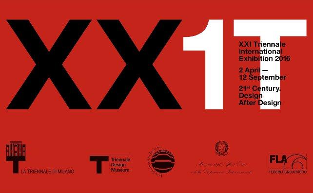 Opportunity: XXI Triennale International Exhibition  Triennale Milano