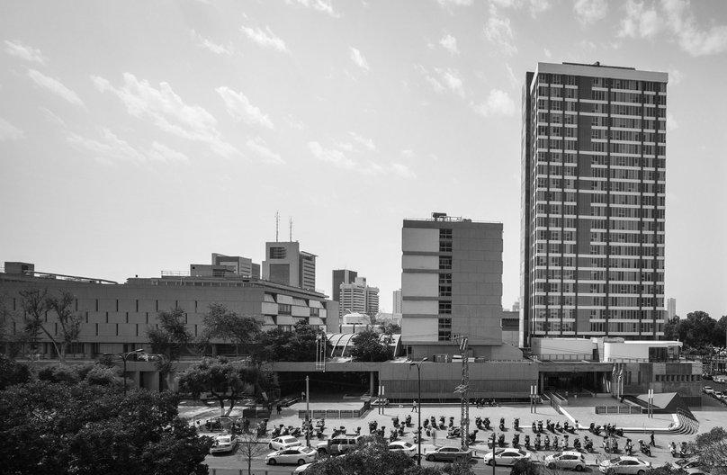 Touring Brutalist Tel-Aviv guided virtual tours Image: Photo: Itai Sikolski, 2013