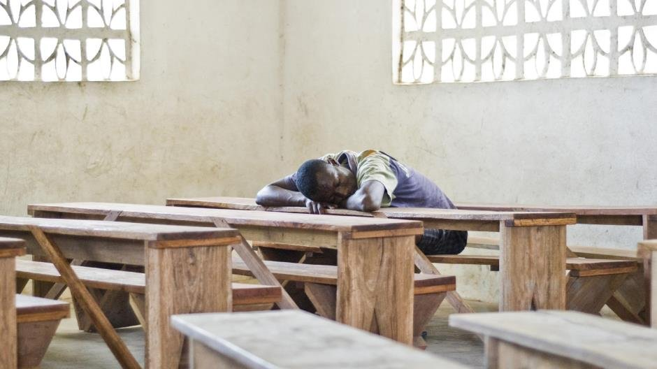 School Furniture, Freetown, Sierra Leone  © Dominic Oliver Dudley