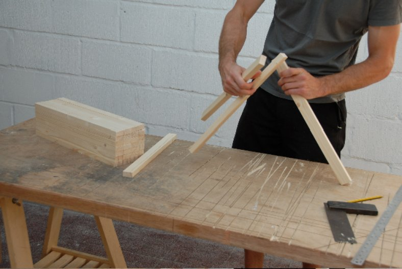 DIY Chair Project. Image courtesy Max Lamb