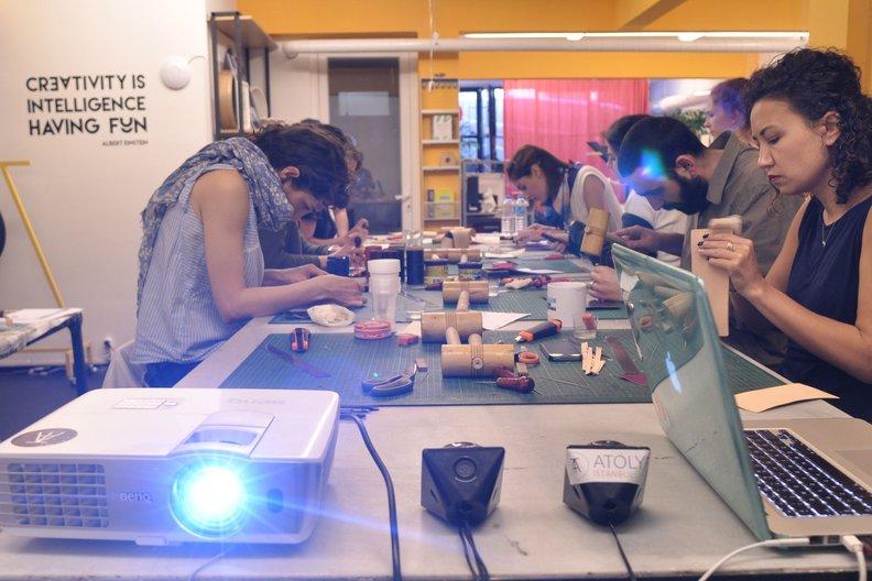 Workshop at ATÖLYE Istanbul  © ATÖLYE Istanbul