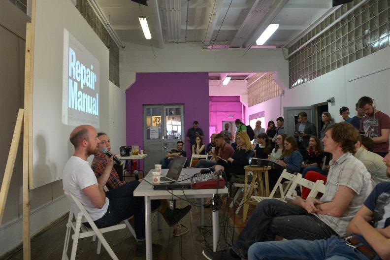 Adam Blencowe talking about his design practice