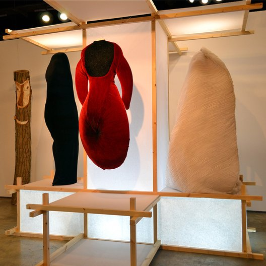 'A New Space Around The Body' 2012. Designer: Minky Jaemin Ha Photo: Serge Martynov