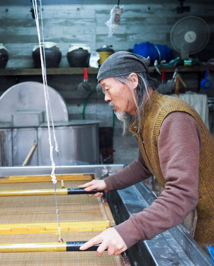 Paper Maker, Korea ©  Linda Brothwell