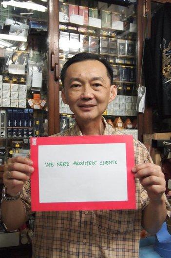 Alex Warnock-Smith - Shopkeeper, Nakornkasem, Bangkok