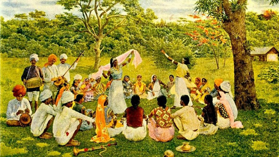 East Indians on a Trinidad Cocoa Estate Project Gutenberg
