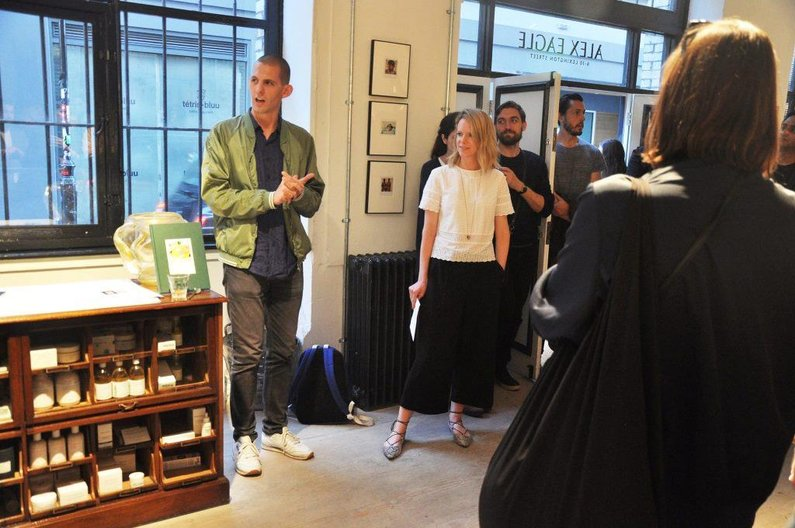 Home Economics curator Jack Self with editor of The Spaces Malaika Byng at the London launch of the book © The Spaces