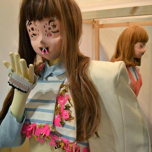 'A New Space Around The Body' 2012. Designer: Minju Kim Photo: Serge Martynov.