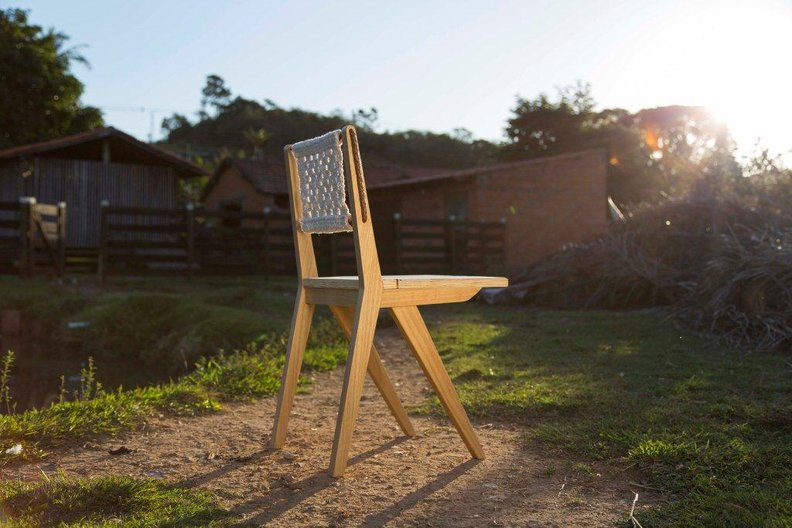 Lucas Neves' Caipira chair © Lucas Neves