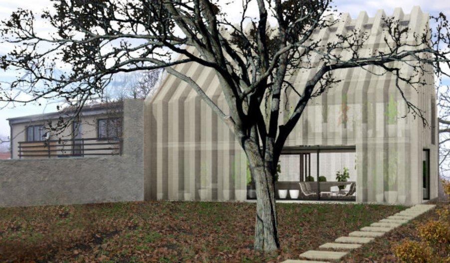 House Garden. Image courtesy of Sepka Architects